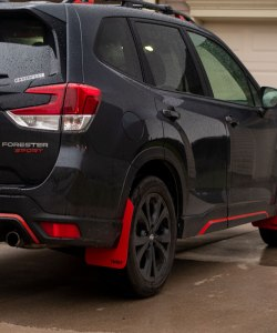 2019 Forester T N M F mudflap passenger rear