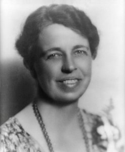 A portrait of Eleanor Roosevelt in 1933