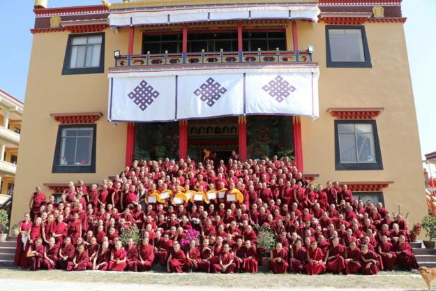 Geshema, Kopan Nunnery, Geshema graduation, nun's education, Tibetan Buddhist nuns