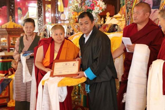 Geshema degree, Geshema graduation 2018, Tibetan nun, Tibetan women, Tibetan Buddhism