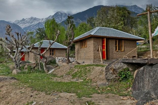 retreat huts