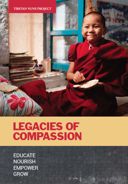 cover of Tibetan Nuns Project legacy booklet
