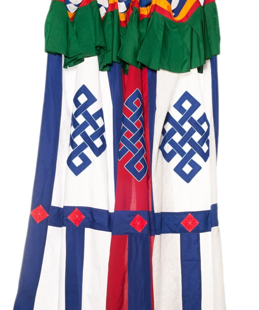 Tibetan door curtains