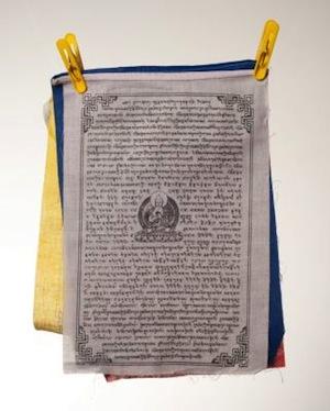 Gyaltsen Tsenpo Tibetan Prayer flags