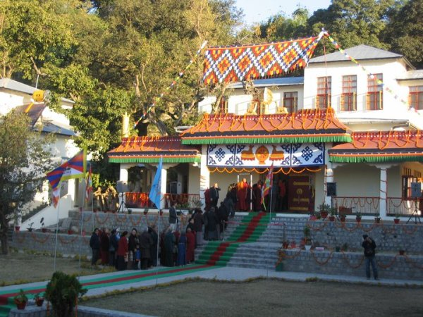 Inauguration ceremony 2010 of Shugsep Nunnery