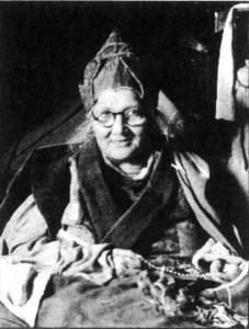 Tibetan yogini Shugsep Jetsun