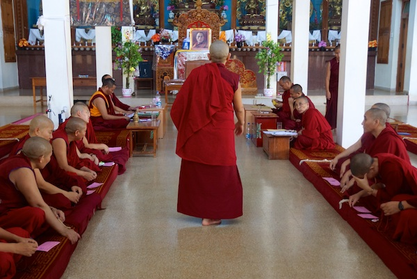 Geshema examinations Tibetan Buddhist nuns