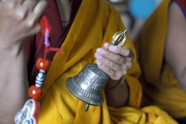 Chod practice, Shugsep, Buddhist nun, prayer, chanting, Tibetan bell, Brian Harris, Tibetan Nuns Project
