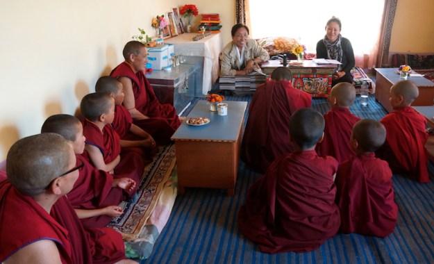 Rinchen Khando Choegyal, Tibetan Nuns Project, Dorjee Zong Nunnery, Zanskar, Buddhist nuns, Tibetan nuns, Tibetan