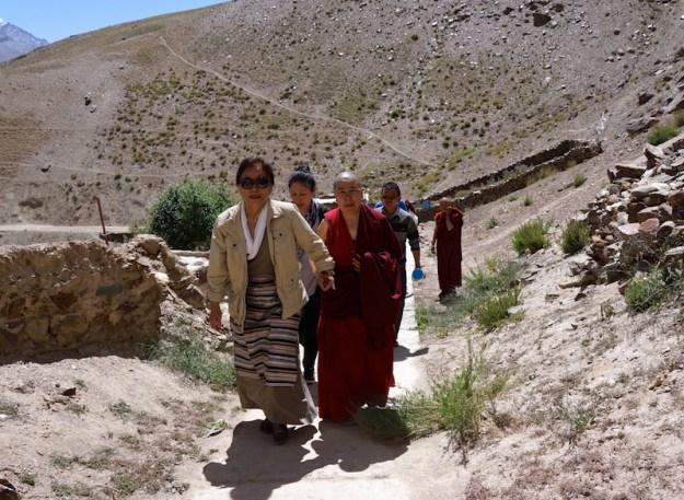 Rinchen Khando Cheogyal, Dorjee Zong, Buddhist nunnery, Zanskar, Tibetan nuns, Buddhist nuns, Tibetan Nuns Project