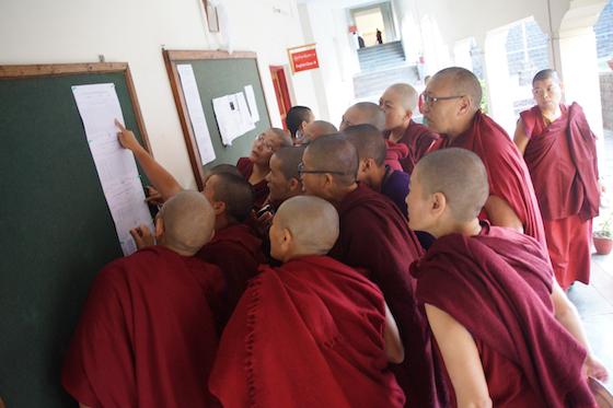 Geshema, Geshema exams, 2018 Geshema exam results, Dolma Ling Nunnery
