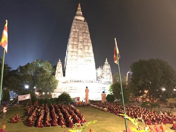 25th nuns Jang Gonchoe 2019 Bodh Gaya