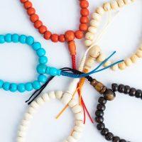 Assorted Bone Malas, mala, malas, Tibetan malas, Tibetan prayer beads, wrist malas