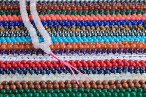 assorted malas, mala, malas, Tibetan malas, Tibetan prayer beads,
