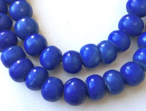 Bone Blue Mala