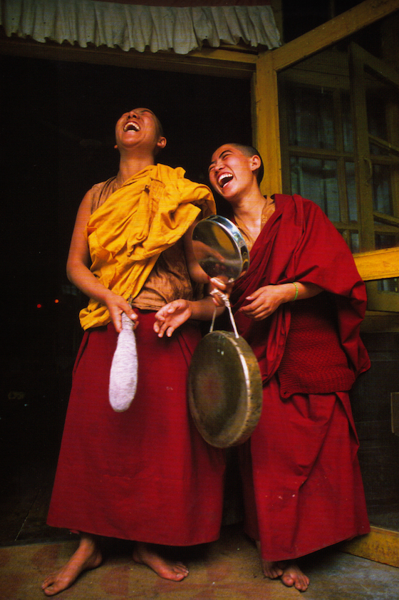 Brian Harris, Tibetan Nuns Project, laughing nuns, Tibetan Buddhist nuns, Dharamsala, Tibetan Buddhism, nunnery, Buddhist nunnery, legacy gift to Tibetan Nuns Project