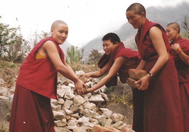 housing for nuns, Tibetan Nuns Project archive, Tibetan Buddhist Nuns building