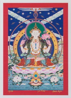 Compassion Buddha-unframed