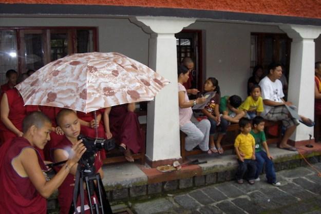 Delek Yangdron Tibetan Buddhist nun photographer