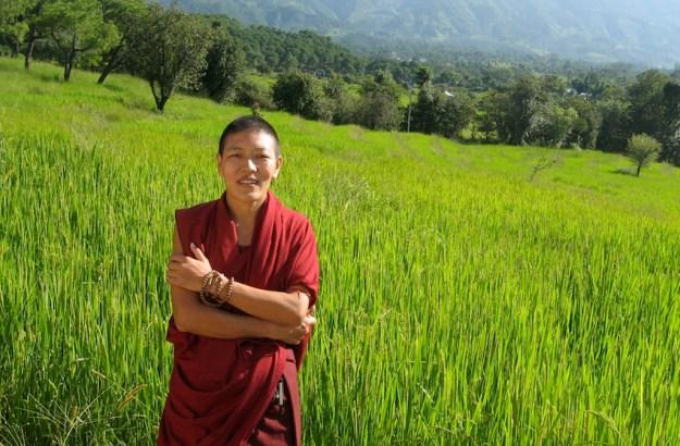 Delek Yangdron Tibetan Buddhist nun