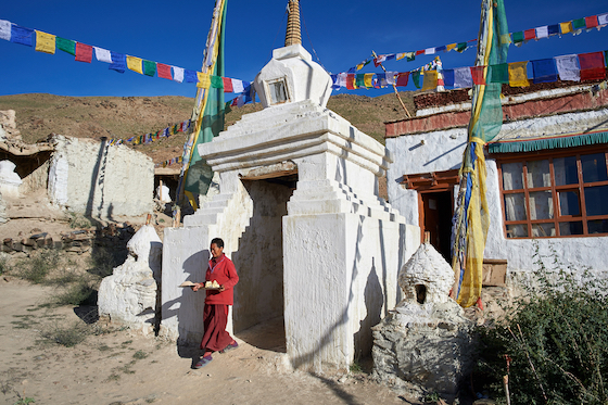 Dorjee Zong Nunnery in Zanskar by Olivier Adam