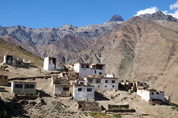 Dorjee Zong Nunnery in Zanskar photo by Olivier Adam