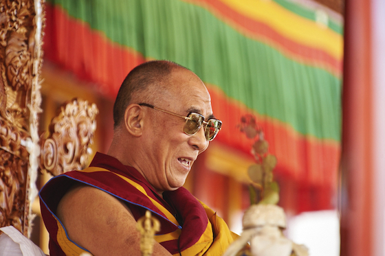 His Holiness the Dalai Lama by Olivier Adam