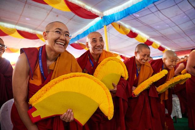 Geshema nuns, Tibetan Buddhist nuns