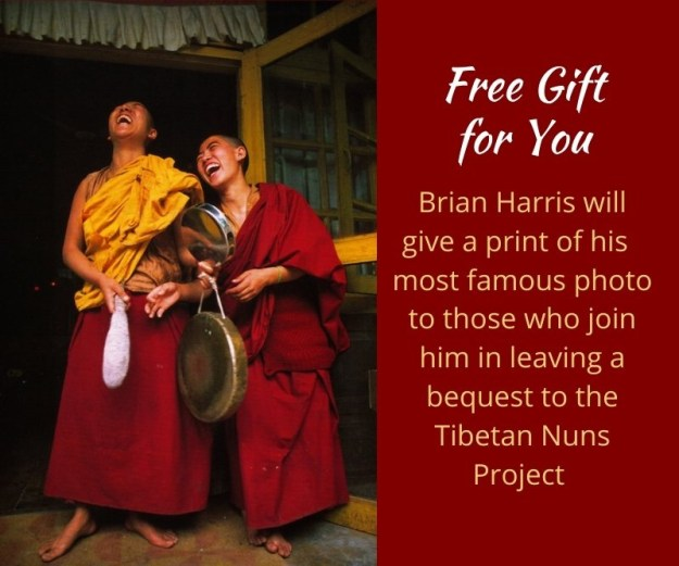 laughing nuns by Brian Harris, legacy gift, free gift