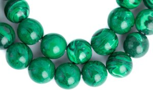 Malachite mala, mala, malas, Tibetan malas, Tibetan prayer beads,