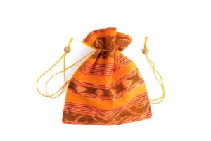 Mala Bag Woven Orange
