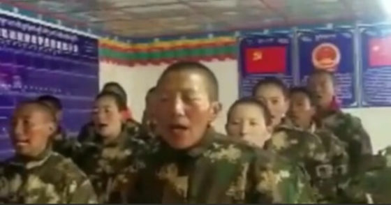 Tibetan Buddhist nuns arrested by Chinese