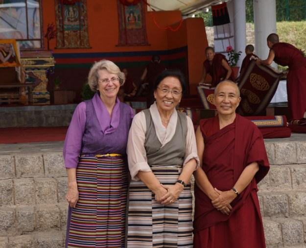 Tibetan Nuns Project, Elizabeth (Betsy) Napper, Rinchen Khando Choegyal, Venerable Lobsang Dechen, Betsy Napper