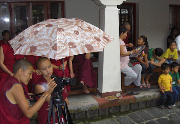 old camera, Tibetan Nuns Project, Delek Yangdron, camera for the nuns, empower the nuns