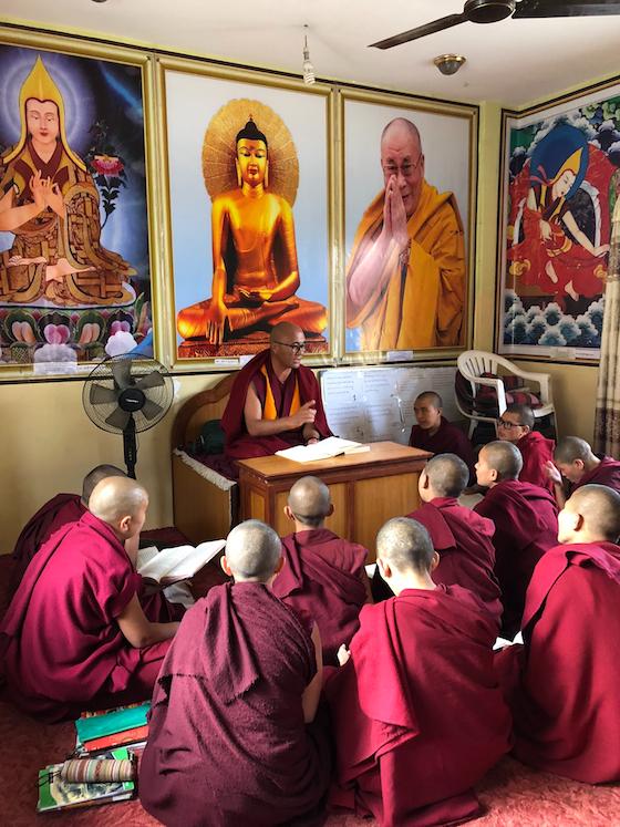 teacher salaries, Tibetan nuns, Keydong Thukchoe Choeling Nunnery, educating women, Buddhiist education, Buddhist women, Tibetan Nuns Project