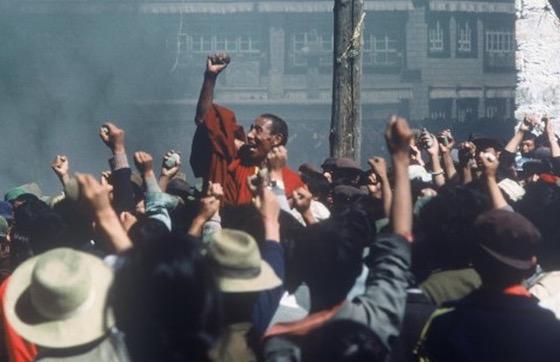 Tibetan demonstrations 1987
