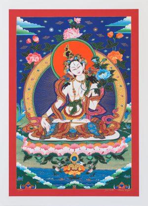White Tara II-unframed