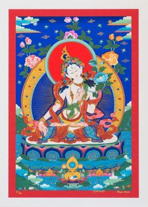 White Tara I-Unframed