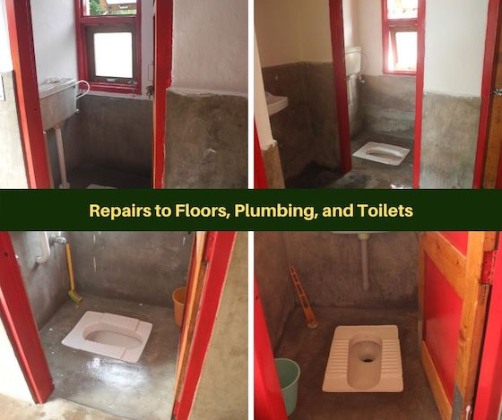 bathroom repairs Dolma Ling maintenance 2019