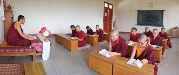 Tibetan Nuns, Tibetan Nuns Project, Tibetan education, Tibetan culture, what Tibetan Buddhist nuns learn, Shugsep Nunnery