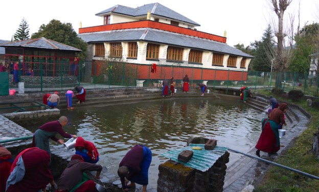 drinking water reservoir, Dolma Ling Nunnery, Tibetan Nuns Project, Tibetan nunnery