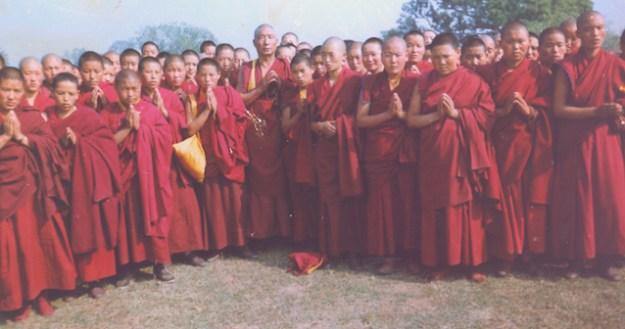 newly escaped Tibetan Buddhist nuns
