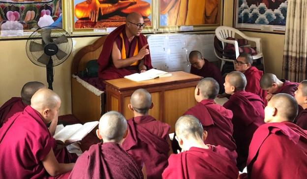 Tibetan Buddhism, educating women, teachers salaries