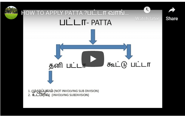 HOW TO APPLY PATTA