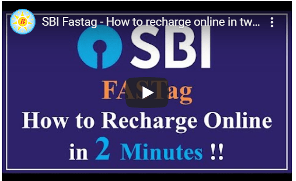 SBI Fastag - How to recharge online in two minutes