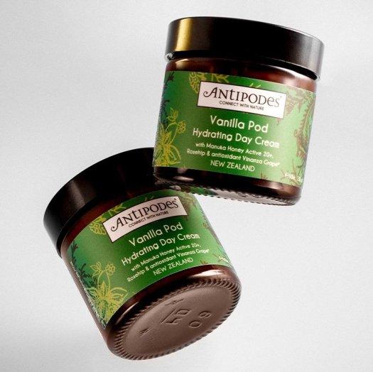 Antipodes Natural Vanilla Pod Hydrating Day Cream - 60ml