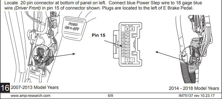 Amp Research Wiring Diagram