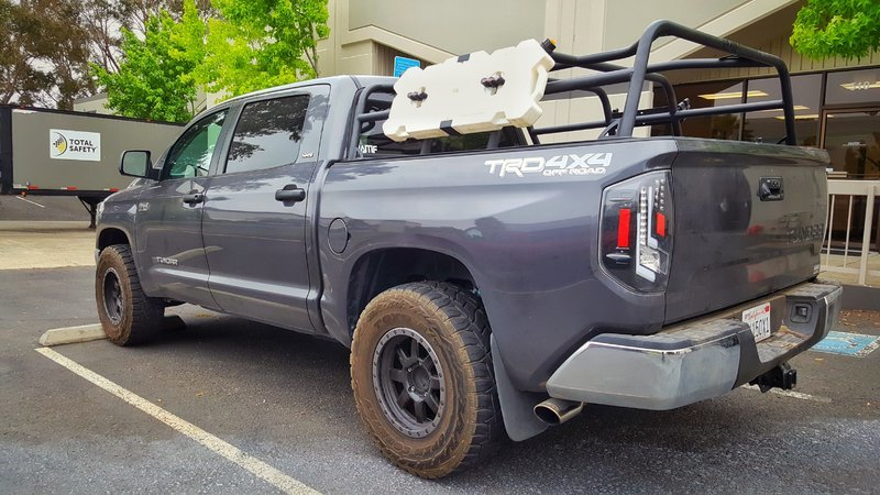 BAMF CrewMax Bed rack