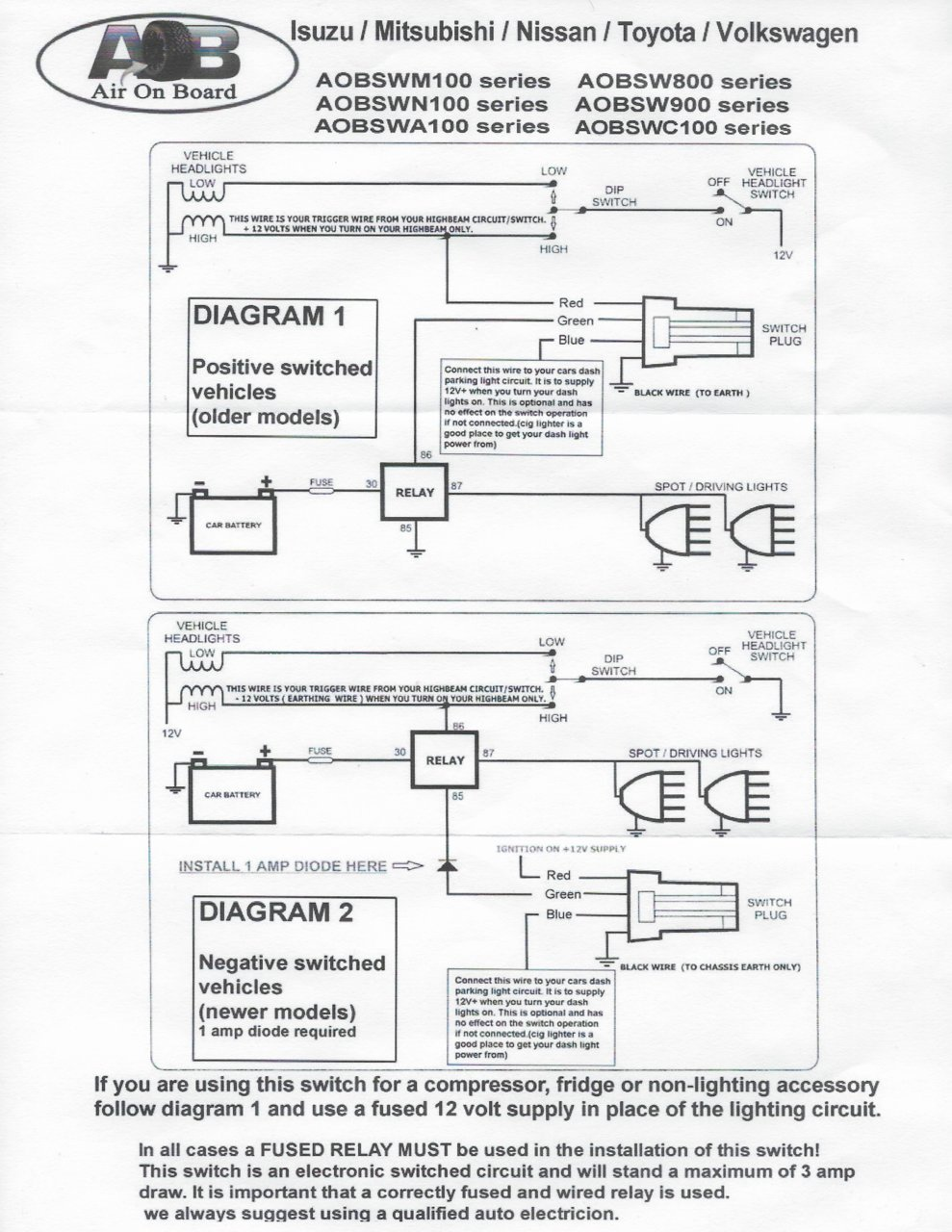 hight resolution of the below diagram is what comes with the aob switch a6341a6f e514 4b72 a1dc d36de44fa400 jpg