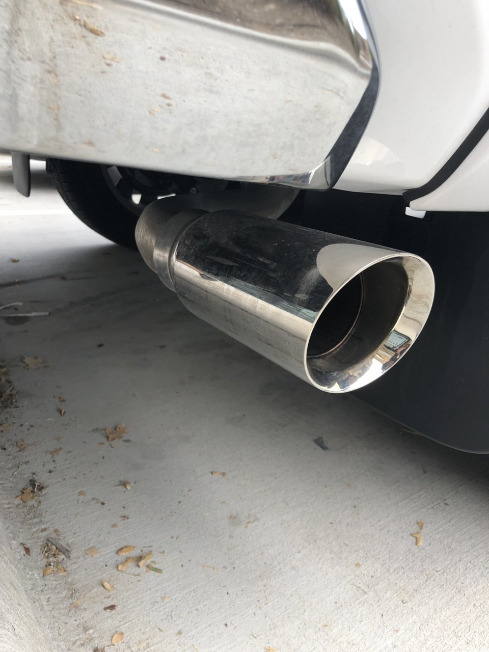 2018 limited crewmax oem exhaust sold